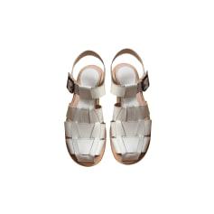 Sandales plates  Paraboot  pas cher