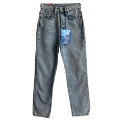Jeans droit Acne  pas cher