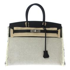Stoffhandtasche Hermès Birkin