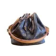 Sac à main en cuir Louis Vuitton Noé pas cher