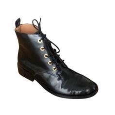 Bottines & low boots plates Petite Mendigote  pas cher