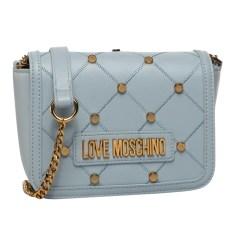 Schultertasche Leder Love Moschino