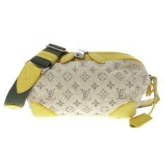 Schultertasche Stoff Louis Vuitton