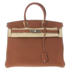 Lederhandtasche Hermès Birkin