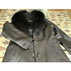 Manteau en cuir Giovanni  pas cher