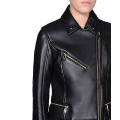 Veste en cuir Karl Lagerfeld  pas cher