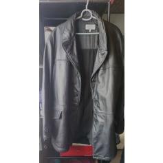 Manteau en cuir Armani Jeans  pas cher