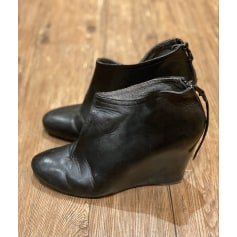 Bottines & low boots à compensés 3 Suisses  pas cher