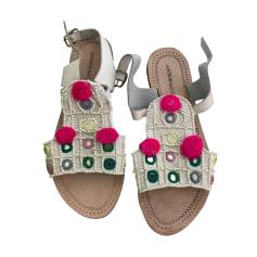 Sandales plates  Antik Batik  pas cher