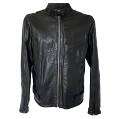 Leather Zipped Jacket G-Star