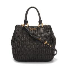 Leather Handbag Miu Miu