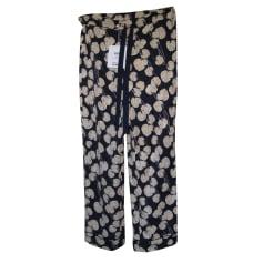 Pantalon évasé Diane Von Furstenberg  pas cher