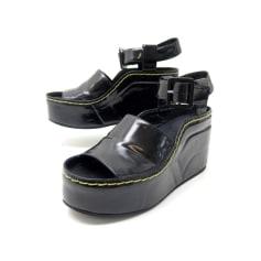Sandales plates  Céline  pas cher
