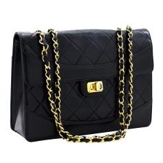 Leather Handbag Chanel