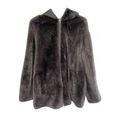 Manteau en fourrure Tara Jarmon  pas cher