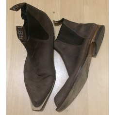 Flat Ankle Boots Free Lance