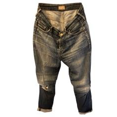Jeans large, boyfriend Mother denim  pas cher