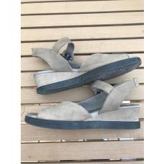 Sandales compensées Arche  pas cher