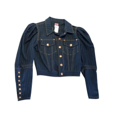 Veste en jean Jean Paul Gaultier  pas cher