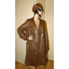 Manteau en cuir Promod  pas cher