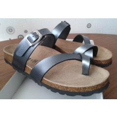Sandales plates  Bio Divina  pas cher