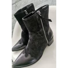 Bottines & low boots à talons Alexander hotto  pas cher