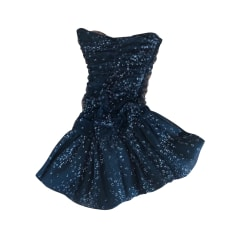 Backless Dress Maje