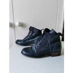 Bottines & low boots plates Texto  pas cher