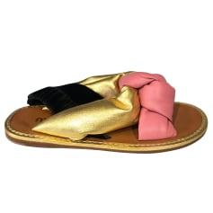 Flat Sandals Miu Miu