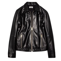 Leather Zipped Jacket Zadig & Voltaire