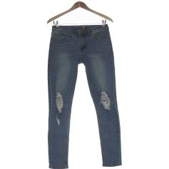 Jeans slim Boohoo  pas cher