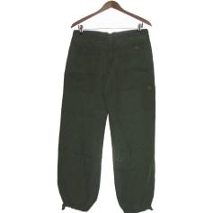 Straight Leg Pants Comptoir Des Cotonniers