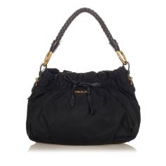 Leather Shoulder Bag Prada