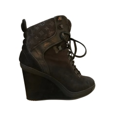 Wedge Ankle Boots Louis Vuitton