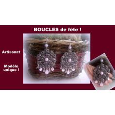Boucles d'oreille Atelier artisanal  pas cher