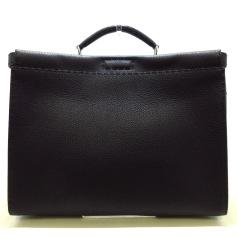 Leather Oversize Bag Fendi