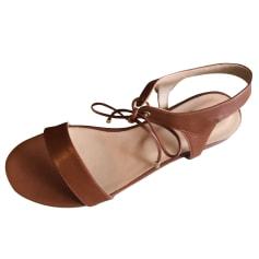 Sandales plates  Bobbies  pas cher