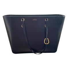 Leather Shoulder Bag Ralph Lauren