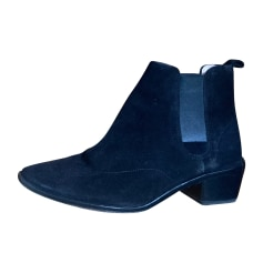 Bottines & low boots plates Repetto  pas cher