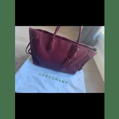 Ledertasche groß Longchamp Penelope