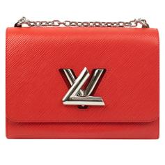 Leather Shoulder Bag Louis Vuitton Twist