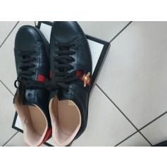 Lace Up Shoes Gucci Ace