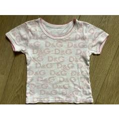 Top, Tee-shirt D&G Junior  pas cher