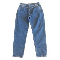 Jeans largo, boyfriend Lacoste
