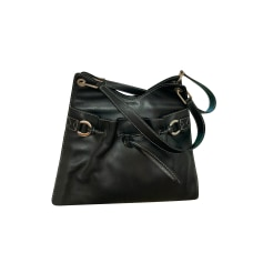 Leather Handbag Lancel