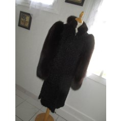 Manteau en fourrure Sprung Frères  pas cher