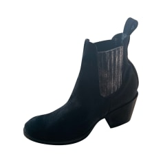 High Heel Ankle Boots Mexicana