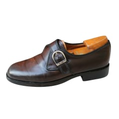 Chaussures à boucles Bally  pas cher
