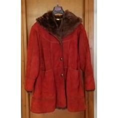 Manteau en fourrure Shearling  pas cher
