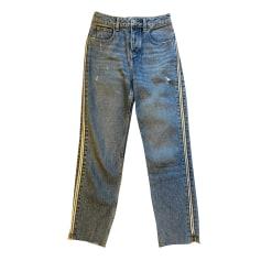Jeans largo, boyfriend Maje